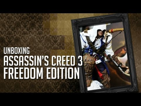 Assassin's Creed 3: Freedom Edition - Unboxing